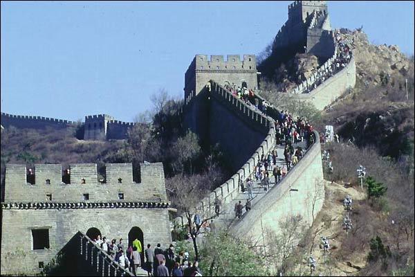 إكتشاف أطلال لسور الصين العظيم
