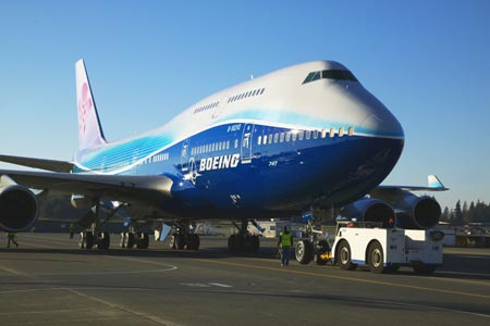 الطيران الصيني يحقق أرباحا  1.1 مليار دولار في عام 2009