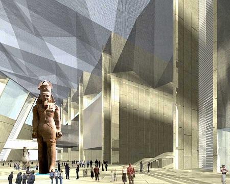 الآثار تتلقى العروض الفنية والمالية لتشييد المرحلة الأخيرة من المتحف المصرى الكبير