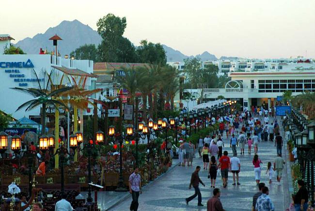شرم الشيخ تشهد زيادة في حركة الوصول والسفر