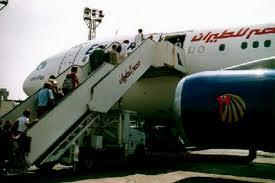 مصر للطيران تنقل 35927 راكباً في يوم العصيان المدني