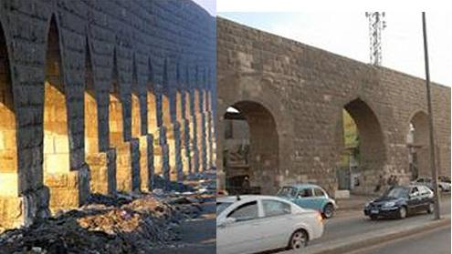 افتتاح مشروع تطوير سور مجرى العيون تمهيدا للاحتفال بمرور 500 عام على بناؤه