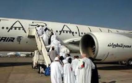 مصر للطيران نقلت 66886 حاجا على متن 271 رحلة .. وغدا آخر رحلاتها لنقل 5957 حاجا إلى الأراضى المقدسة