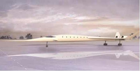 تطوير أسرع طائرة ركاب في العالم