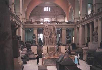 تأمين المتاحف والمواقع الأثرية بجميع أنحاء الجمهورية