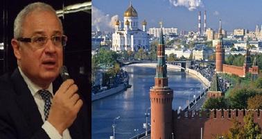 زعزوع يصل روسيا  لحث الحكومة على إلغاء تحذير السفر لمصر