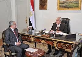 عدلى منصور يلتقى -زعزوع -و-الرفاعى- لمناقشة خطط النهوض بقطاع السياحة