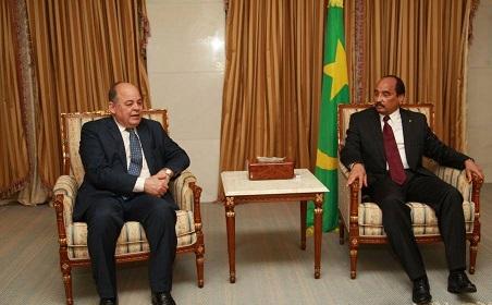 رئيس موريتانيا: نتطلع الي أن تعود مصر رائدة لعالمها الاسلامي والأفريقي