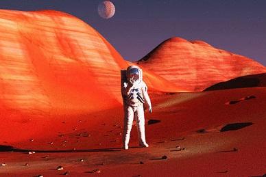 الحياة على المريخ دون تمييز بين الرجل والمرأة