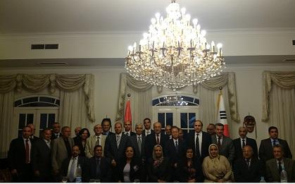 خلال احتفالية بمرور 19 عاماً على العلاقات بين مصر وكوريا ..  السفير الكوري: أشعر بالامتنان لمصر لدورها في التعريف بكوريا
