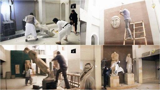 وزير الاثار السابق:ما حدث بمتحف الموصل جريمة ضد الإنسانية
