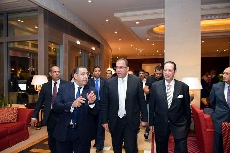بعد تطويره وتجديد شبابه .. 5 وزراء ومُحافظ في الافتتاح التجريبي لفندق -النيل ريتز كارلتون- بالقاهرة