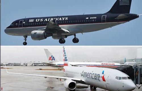 قيام أكبر شركة طيران في العالم بعد إندماج -يو إس إيروايز- و -أمريكان إيرلاينز