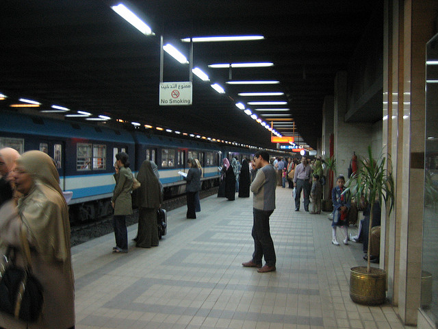 تركيب 2000 كاميرا مراقبة في محطات مترو الانفاق الخط الثانى