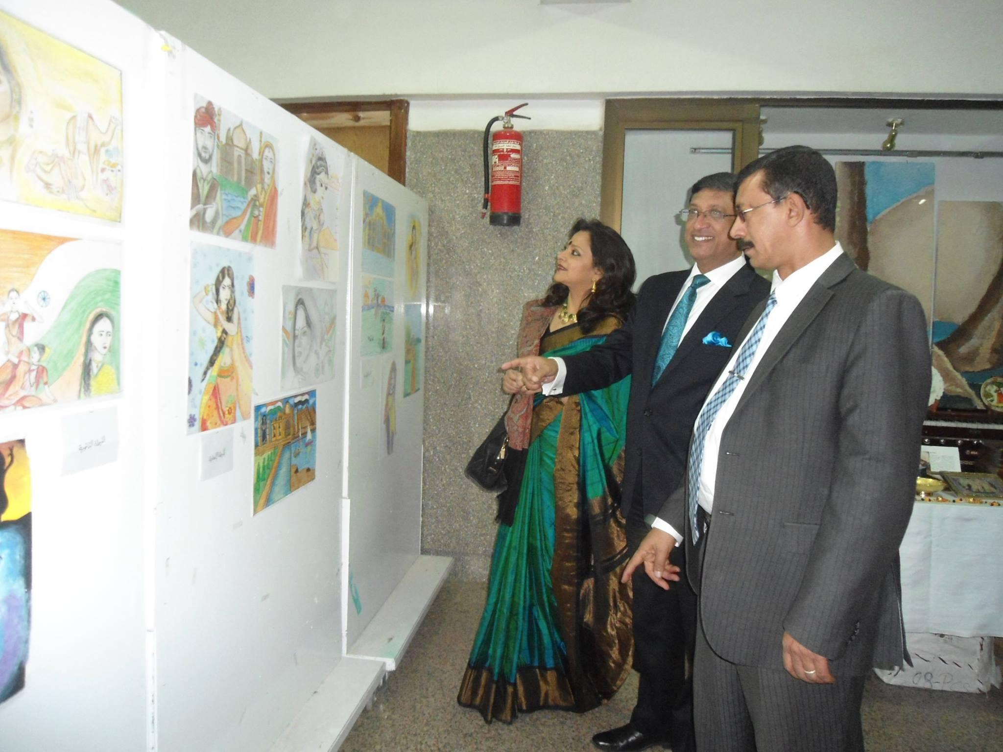 سفير الهند ضيف قصر ثقافة أسوان