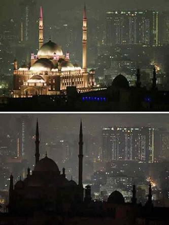 غداً.. مصر تشارك العالم حملة إطفاء الأنوار