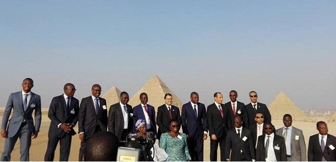رئيس توجو: منبهر بما شاهدته من آثار تحكي تاريخ مصر بأكمله