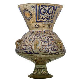 مشكاوات السلطان برقوق فى دوريه متحف المتروبوليتان
