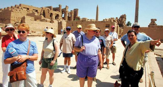 تراجع حركة السياحة الوافدة لمصر بنسبة 10.5 % خلال نوفمبر الماضى