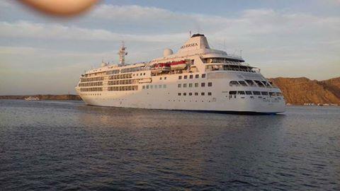 وصول 464 سائح و طاقم من جنسيات مختلفة لميناء شرم الشيخ