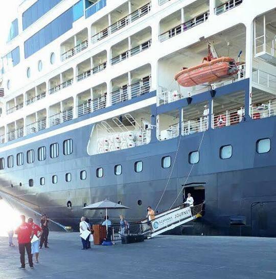 وصول 626 سائح من جنسيات مختلفة لميناء سفاجا