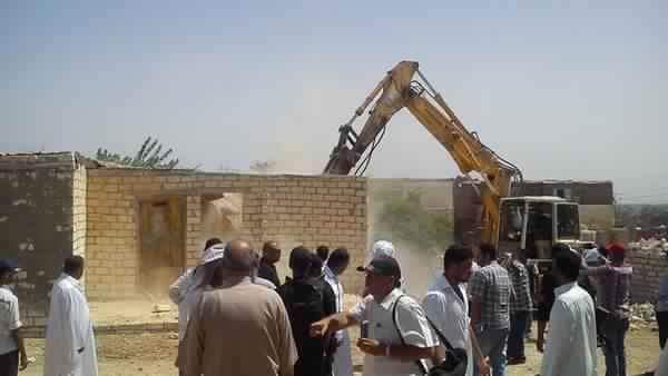 التعديات على الآثار المصرية