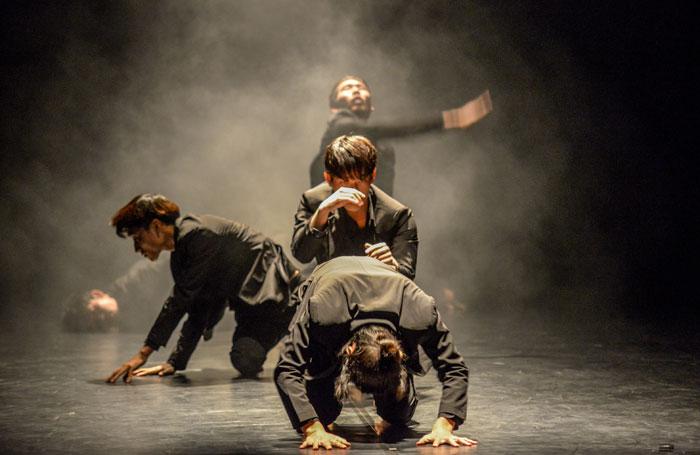 رقص كوري حديث احتفالاً بالذكرى الثالثة لإفتتاح المركز الثقافي الكوري