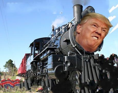 القطار القادم إلى الشرق