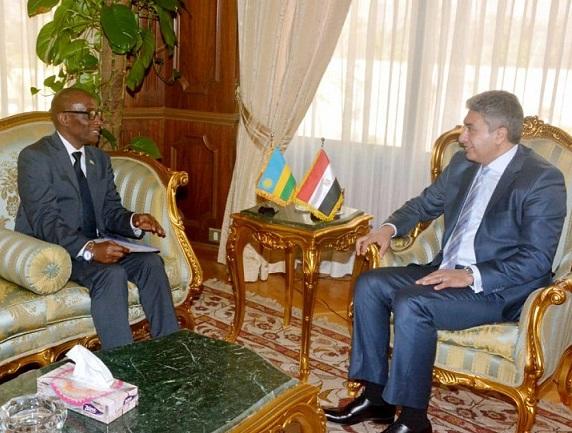 رواندا تسعى لتوطيد العلاقات مع مصر خاصه فى مجال الطيران