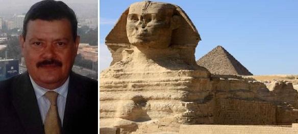 أبو الهول في الطابور ... من أجل مصر