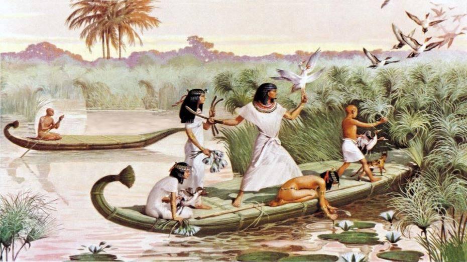 شم النسيم و الحضارة المصرية القديمة