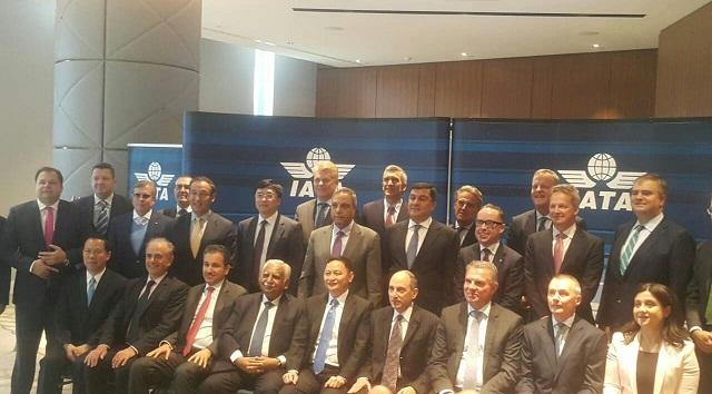مصر للطيران تشارك في اجتماع مجلس المحافظين بالأياتا