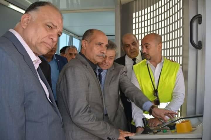 وزير الطيران يتفقد الأمن والصيانة بمطار الغردقة