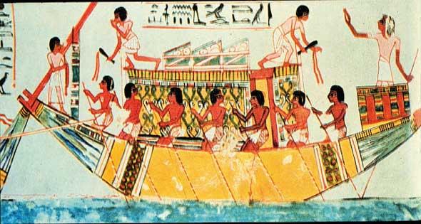 الفراعنة وعيد وفاء النيل