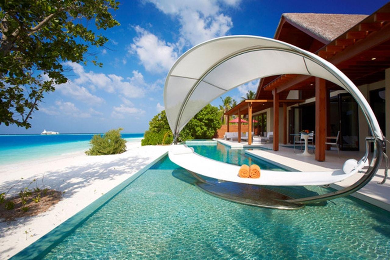 السياحة الحلال  فى جنة جزر المالديف