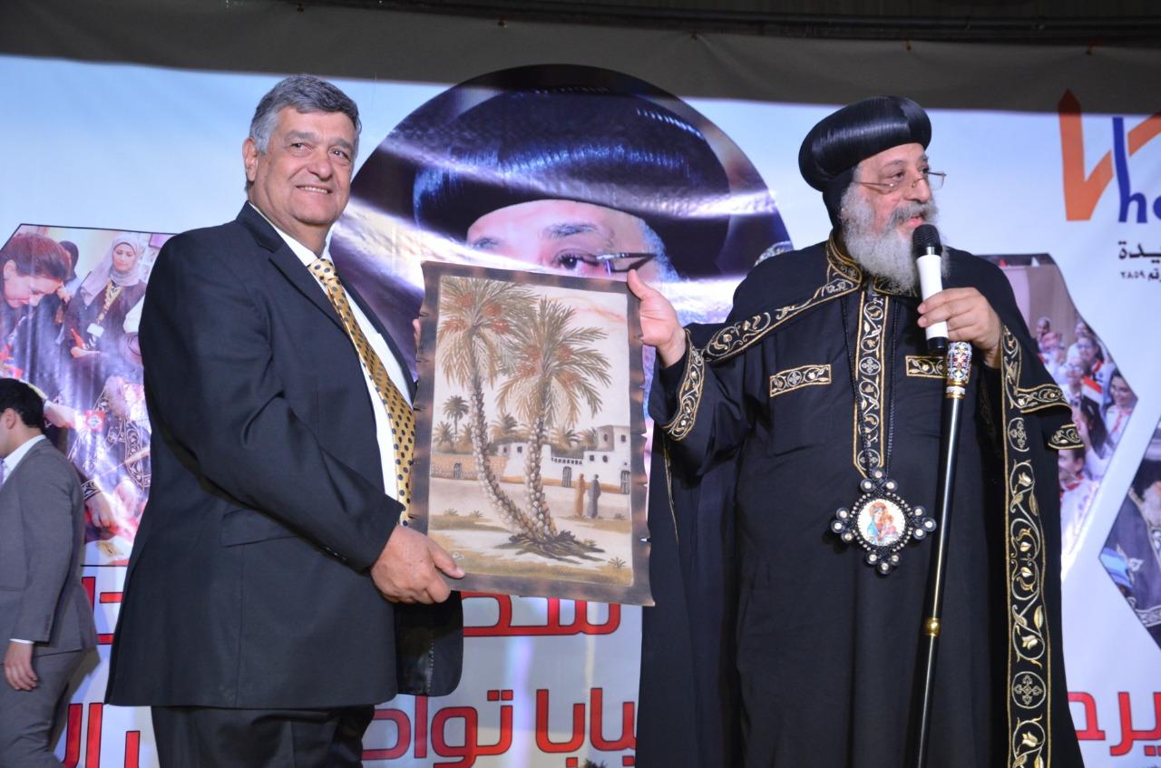 لأول مرة..البابا تواضروس في ضيافة جمعية مصر الجديدة