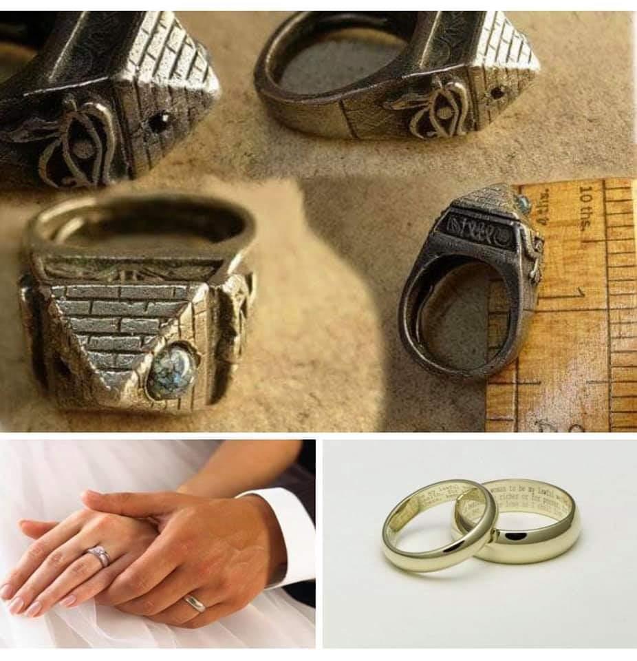 أول من ارتدى خاتم الزواج