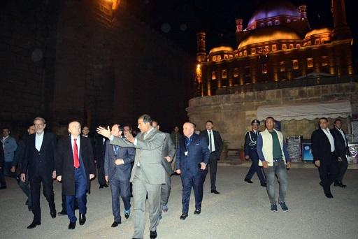 رئيس ألبانيا في زيارة قلعة صلاح الدين الأيوبي