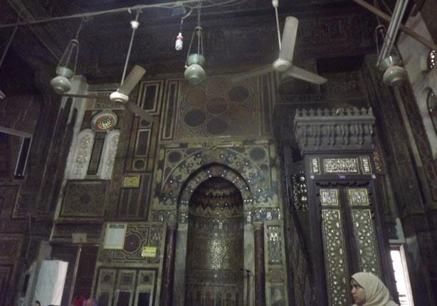بدائع الفن الاسلامى تتجسد في مسجد البردينى
