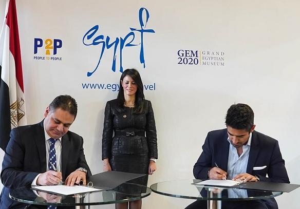 وزارة السياحة توقع بروتوكول تعاون مع شركة عالمية للترويج لمصر