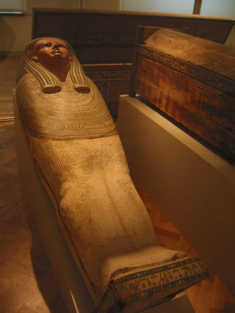 طقوس الدفن فى مصر القديمة
