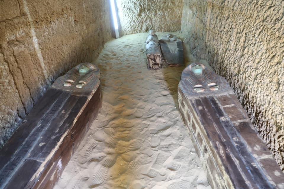 اكتشاف «مقبرة مزدوجة» ترجع للأسرة الخامسة