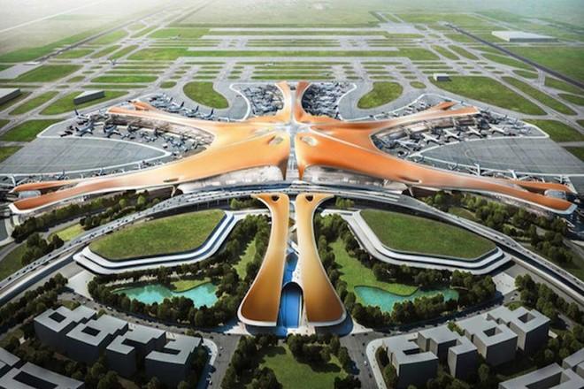 -نجمة البحر- مطار صينى جديد بحجم 140 ملعب كرة قدم