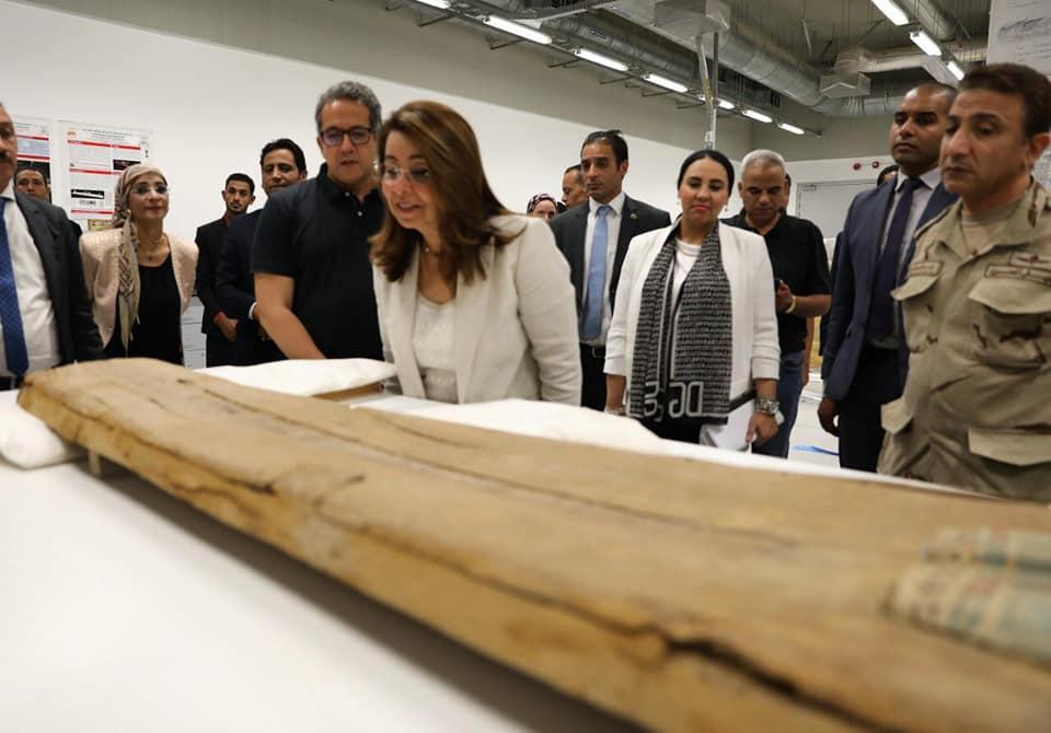 بحث إنشاء جمعية أصدقاء المتحف المصري الكبير
