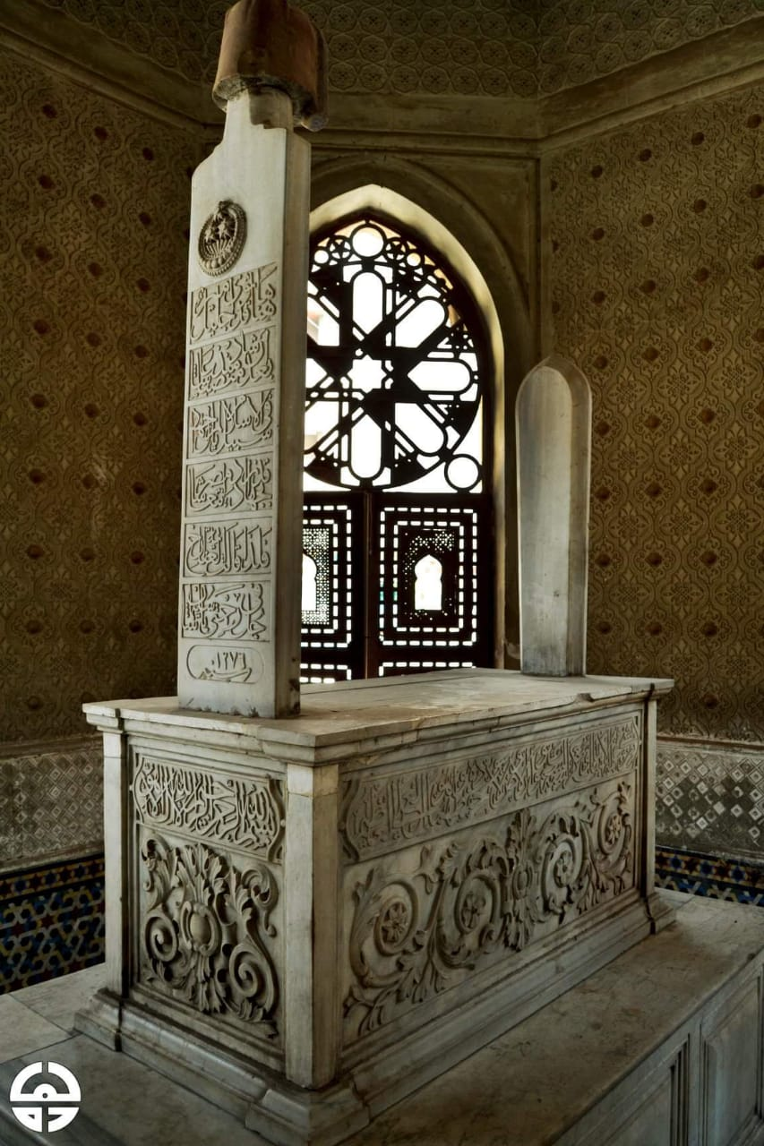 تركيبة مدفن سليمان الفرنساوي بمصر القديمة