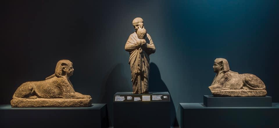 افتتاح معرض الآثار الغارقة بمحطته الثالثة بولاية كاليفورنيا