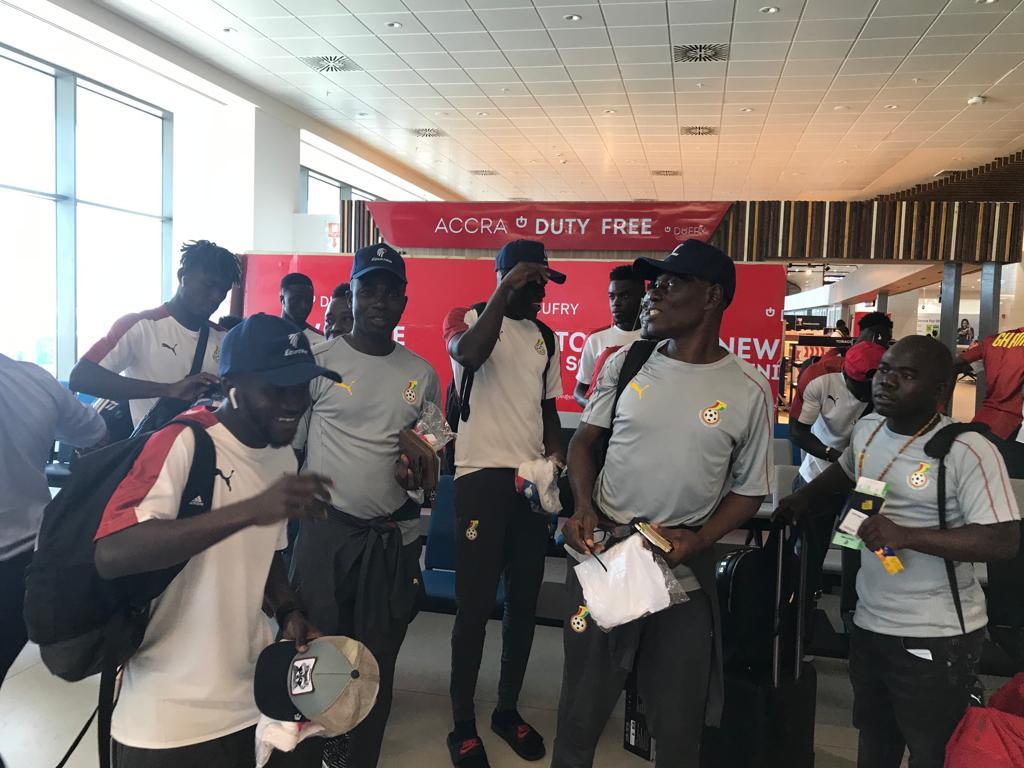 مصرللطيران تستقبل منتخب غانا للمشاركة في بطولة افريقيا