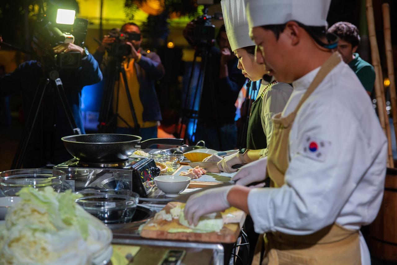 السفير الكوري : الكيمتشي هو الطبق الكوري الأكثر تمثيلا لثقافة الطعام في كوريا الجنوبية