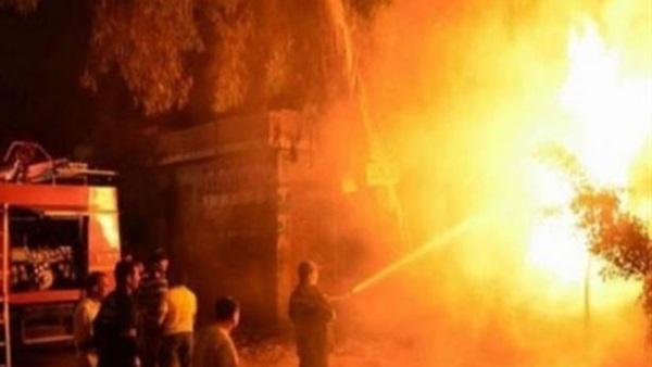شارع الجمالية آمن تماما بعد نشوب حريق محدود
