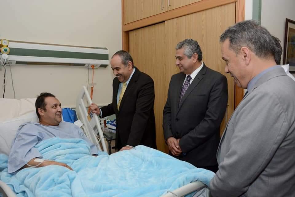 افتتاح وحدات ومعامل طبية حديثة بمستشفى مصر للطيران
